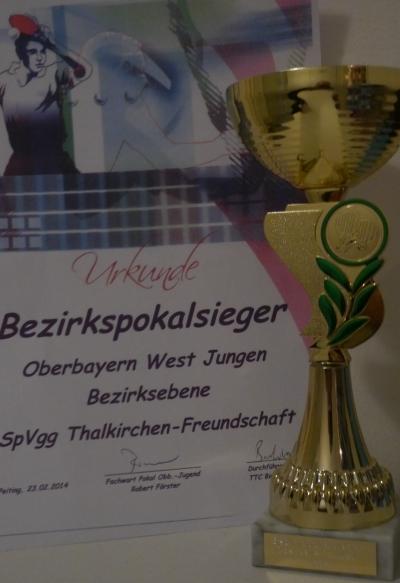 Pokal Bezirksmeister 2014